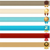 Ribbons And Awards — Stock Vector