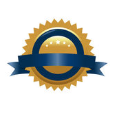 Guaranteed Golden Sign — Stock Vector