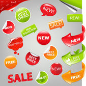 Sale Set — Stock Vector