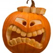 Royalty-Free Stock Photo: Halloween pumpkin