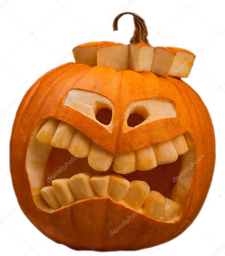 Halloween pumpkin   Stock Photo #3968998