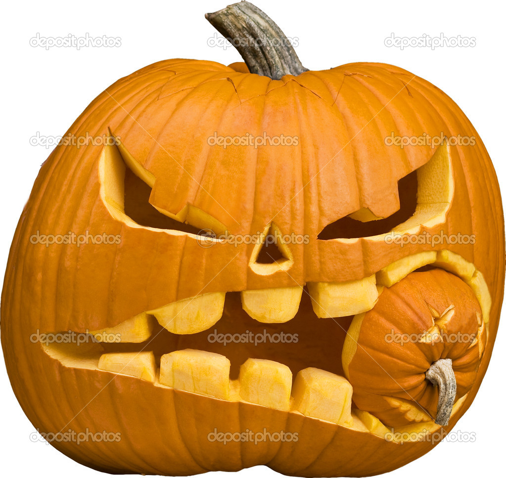 Halloween pumpkin   Stock Photo #3969135