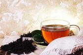 Cozy Morning Tea — Stock Photo