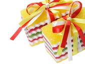 Słodkich cukierków galaretki z taśmy — Zdjęcie stockowe