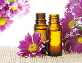 Bottles of Essential Oil — Stock Photo