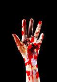 Katil bir el — Stok fotoğraf