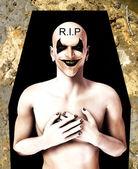 RIP Evil Clown — Stock Photo