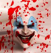 Skin Face Clown — Stock Photo