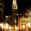 Stock Photo: Boston at night