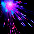 Optical Fibers — Stock Photo