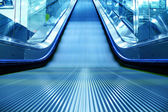 Escalator of the subway station — Stock Photo