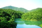Lake in mountain — 图库照片