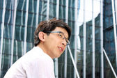 Casual asian businessman — Stock Photo