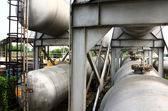 Gas storage tanks — Stock Photo