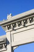 Arco monumental chino — Foto de Stock