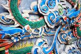 中国集纳雕塑 — 图库照片