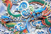 Chinese dargon sculpture — Stock Photo