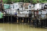 Tai o, небольшой рыбацкой деревни в гонконге — Стоковое фото