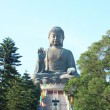 Giant Buddha Statue in Tian Tan. Hong Kong, China - Stockfoto