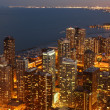 Chicago al crepuscolo — Foto Stock