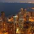 Chicago in schemerlicht — Stockfoto #4509831