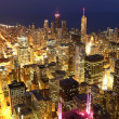 Chicago in schemerlicht — Stockfoto #4510246