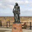 Statue of the Ancient Mariner, Watchet — Stock Photo