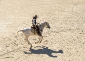 šerif na koni — Stock fotografie