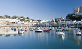 Torquay Inner Harbour — Stock Photo