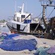 Stock Photo: Trawler fishing boat