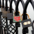 Stock Photo: Locks of Love