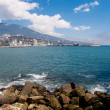 Yalta embankment — Stock Photo