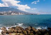 Yalta embankment — Stock Photo