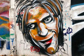 City graffiti — Stock Photo