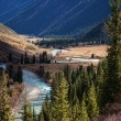 Autumn mountain river — Stock Photo #4112893