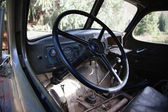 Old truck inside — Stock Photo