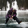 Winter fishing — Stock Photo #4548185