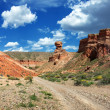 Stock Photo: Canyon pano