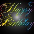 Birthday — Vector de stock #4754529