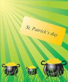 Patrick's Day — Stock Vector