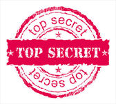 The press. Top secret. — Stock Vector
