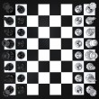 Stock Photo: Chess top view