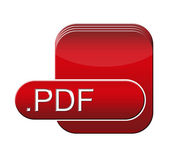 PDF file symbol — Stock Photo