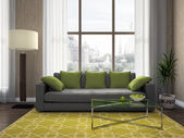View on the comfortable living-room — Stock Photo