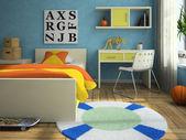 Interior de la childroom moderna — Foto de Stock