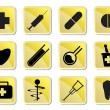 Medical and healtcare Icons - Imagen vectorial