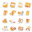 16 Detailed Internet Icons - Stock Vector