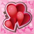 Valentine love pozadí — Stock vektor