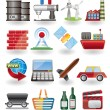 Royalty-Free Stock Vector Image: Business and industry icons
