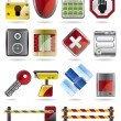 Security and Business icons - Stock Vector